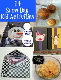 Snow Day Kid Activities