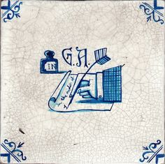 Delft Tile by Paul Bommer