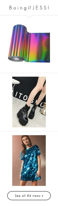 """""""B o i n g // J E S S I"""" by slessor-art ❤ liked on Polyvore featuring fillers, aesthetic, other, stuff, items, shoes, boots, ankle booties, black ankle boots and black chunky heel booties"""