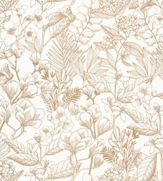 Power Wallpaper, How To Hang Wallpaper, Wallpaper Size, Retro Wallpaper, Vintage Wallpaper Patterns, Pattern Wallpaper, Flower Power, Leaf Stencil, Animal Print Wallpaper