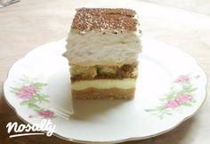 Gesztenyés álom sütés nélkül | Nosalty Poppy Cake, Hungarian Recipes, Vanilla Cake, Tiramisu, Nutella, Cheesecake, Deserts, Ale, Dessert Recipes