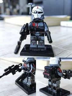 Star Wars Minifigures, Lego Star Wars, Lego Mandalorian, Star Wars Vehicles, Airsoft Gear, Lego Construction, Wrangler Shirts, Lego Figures, Star Wars Ships
