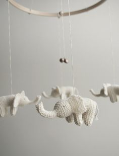 Because It's Awesome: Loving Lately // Knitted Mobiles
