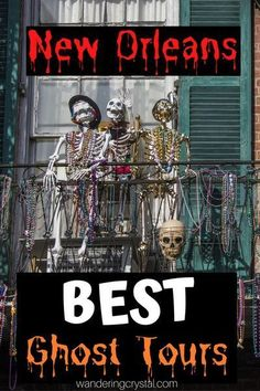Spend an evening exploring the haunted side of New Orleans with one of the best ghost tours in New Orleans. Ghosts, Vampires and Crime. The best ghost tours in New Orleans, wanderingcrystal, ghost tour New Orleans, spooky things to do in New Orleans, Explore New Orleans, NOLA things to do, Travel NOLA, New Orleans haunted locations, haunted things to do in New Orleans, haunted places in New Orleans, Louisiana things to do, dark history in New Orleans, New Orleans Dark Tourism #NewOrleans #Spooky New Orleans Travel Guide, Tours New Orleans, New Orleans History, New Orleans Vacation, Visit New Orleans, Spooky Places, Haunted Places, New Orleans Halloween, New Orleans Cemeteries