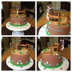 Tina the Llama (Napoleon Dynamite) theme cake, requested by the birthday girl!