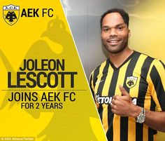 AEK Athens announced their new signing on social media on Monday morning
