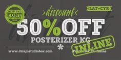 Font dňa – Posterizer KG Inline (14,77€) - http://detepe.sk/font-dna-posterizer-kg-inline-1477e/