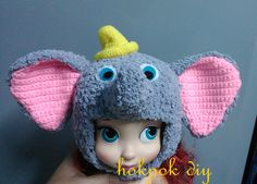Dumbo doll hat
