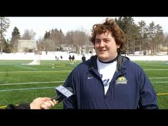 CNY Central interviews former SU star Ryan Powell who joined Caz College's lacrosse coaching staff. Click to watch.
