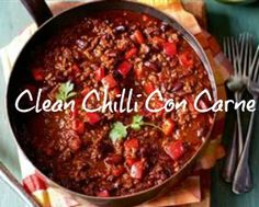 """This recipe is super easy, clean and delicious! It is definitely one of my """"go to"""" quick meals. It's actually an old spaghetti bol. recipe that my mother makes and I've just modified it a little to make Chilli. (I will post the spaghetti recipe this week sometime as well. ;-) ) I like to make…"""