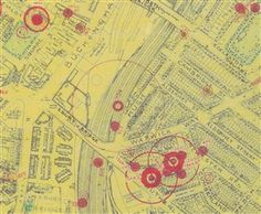 Photo:Bomb Map: Sgt Holmes's plane crashed close to Ebury Bridge and Buckingham Palace Road