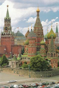 Just outside the Kremlin Gates is The Cathedral of Basil the Blessed, which is a Russian Orthodox Cathedral erected on the Red Square in Moscow and the most recognizable symbol of Russia.