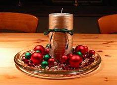 Resultado de imagen para centro de mesa navideños