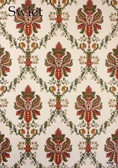 Behang met paisly motief | Swiet