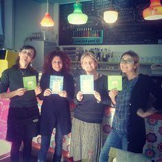 le #amiche di #abygaille (Sarzana) in visita ad Artebimba! due giovani donne intraprendenti ed entusiaste, proprio come noi    Buona fortuna per l'apertura di un family cafè nella loro cittadina www.abygaille.it