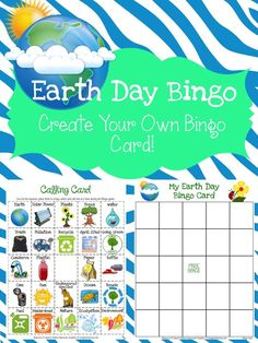 FREEBIE -   This FREEBIE includes 24 Earth Day related images and 1 Bingo card TEMPLATE to be used by students to CREATE THEIR OWN Bingo card (create their own luck). After teaching about Earth Day, this can be used as a fun way to wrap up the lesson.