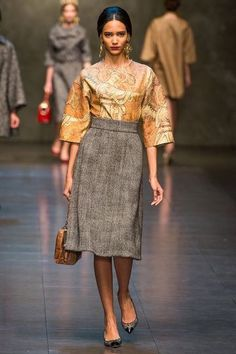 Dolce & Gabbana, Mailand Fashion Week, Fall 2013
