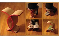 unity stool » Unity Stool: A multifunctional wood furniture concept by Olivia Blechschmidt