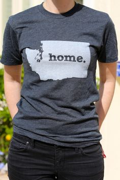 Love these Home t-shirts. Almost all states are available. Really great reminder of where home is for you. And a portion of the profits are donated to MS research.