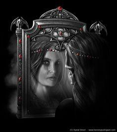 Anne Stokes Mirror Mirror