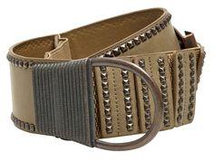 Le look amazone d une large ceinture corset élastiquée et les rivets pour  le côté 5d9cb93d43c