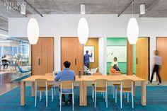 Cisco's New Dream Office by Studio O A via Interior Design Magazine | George Nelson Cigar Lamps | http://modernica.net/cigar-lamp.html
