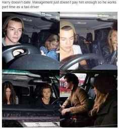 harry styles a boyband member or a taxi driver for celebrities One Direction Humor, I Love One Direction, One Direction Pictures, Taxi Driver, Band, 1d And 5sos, Funny, Stupid, Harry Edward Styles