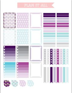 September Erin Condren Planer Stickers