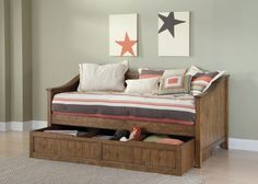 Liberty Hearthstone Youth Twin Daybed with trundle