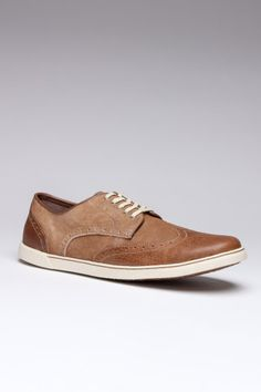 Hush Puppies Carver Tan Leather/Suede