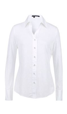 camisa blanca White Shirts Women, Shirts For Girls, Work Casual, Casual Looks, Cute Professional Outfits, Outfits Con Camisa, Madame Chic, Estilo Fashion, Sweater Set