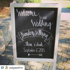 cool vancouver wedding Thanks to @paigepetriw for snapping this photo of one of the chalkboards I designed for the Crewe wedding this weekend! Rowena's is such a beautiful venue  Happy I could be a small part of this lovely couple's big day! #customchalkboard #weddingchalkboard #weddingdecor #handlettered #calligraphy #rowenasinn #fraservalleywedding by @alittlelovecreative  #vancouverwedding #vancouverweddingdecor #vancouverweddingstationery #vancouverwedding