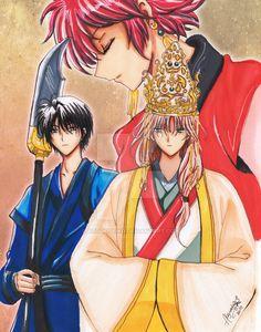 Hak, Soo Won and Yona - Akatsuki no Yona by AtsukiSeiko.deviantart.com on @DeviantArt