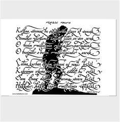 istiklal marşı hattat taner erdem kaligrafisi Kendin Tasarla - Kanvas Tablo 90x60cm Yatay