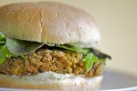 Chickpea burger!!!