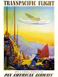 1959 Sydney Australia Air-India Vintage Style Travel Poster 20x30