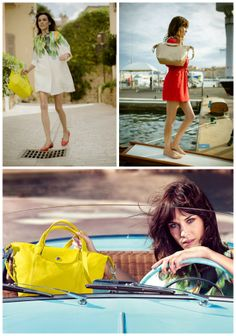 Alexa Chung's new campaign for Longchamp