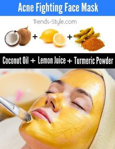 Powerful Acne Fighting Face Mask - Trends & Style #AcneCure