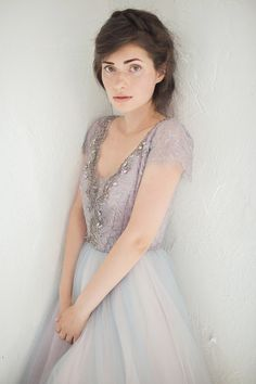 Tulle wedding gown // Lavanda last size by CarouselFashion on Etsy