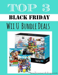 TOP 3 Wii U Black Friday Bundle deals