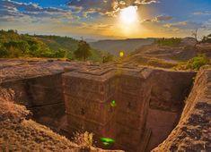 Ethiopia's Lalibela Among 19 Most Stunning Sacred Places in the World at Tadias Magazine Addis Abeba, Belle Villa, Mont Saint Michel, Africa Travel, Ethiopia Travel, East Africa, Kirchen, Wonders Of The World, Places To See
