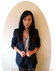 Face Value Beauty Blog: What I Wore To Work Wednesday: Topshop Modern Tailoring