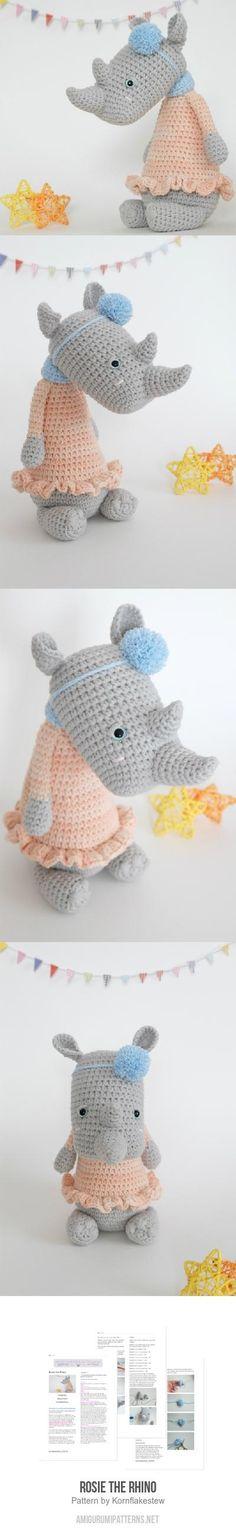 Mejores 12640 imágenes de Amigurumis en Pinterest en 2018 | Crochet ...