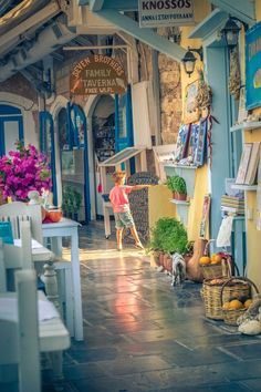 Greece Travel Inspiration - .~Shops in Rethymno, Crete, Greece~.                                                                                                                                                     More #cruceroislasgriegas