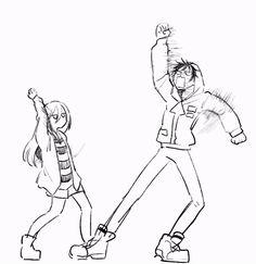 Satsuriku no Tenshi and Zack and Ray's madness))