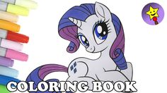 Rarity Coloring Book Page My Little Pony The Movie MLP Mylittlepony Mlp MyLittlePonyMovie MLPMovie