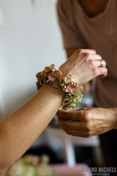 Floral Bracelet #flowers #jewelry #wedding #photography