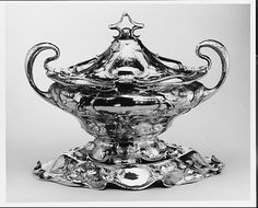 Martele Tureen and Stand, Gorham, 1900, silver