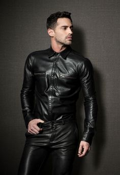 Fall/Winter 2013 La Marque Collection In-Store at Lazaro SoHo lederkerl lederjacke leatherjacket