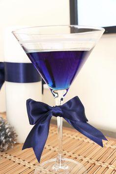 Blueberry Martini  - 1.5 oz Ciroc Vodka, 1.5 oz  DeKuyper Blueberry Blast Schnapps, Splash of Blueberry Juice Cocktail